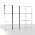Straight Pop-Up Exhibition Stand Frame