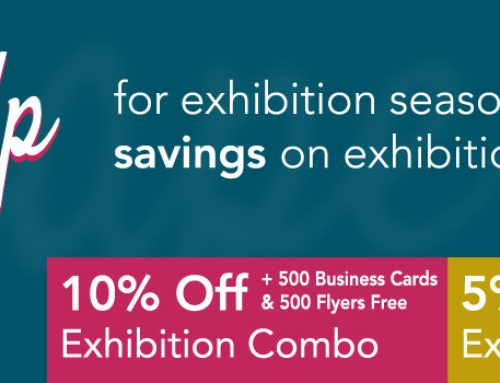 Shape up with big savings on pop-up exhibition kit